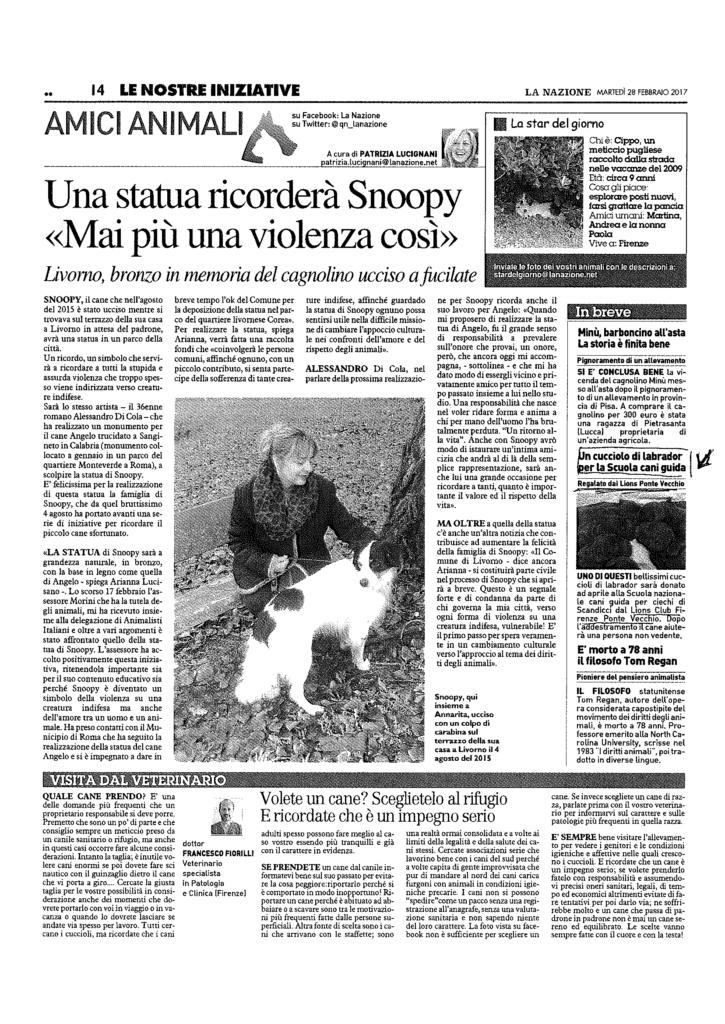 LC Fi Pontevecchio per la scuola cani guida