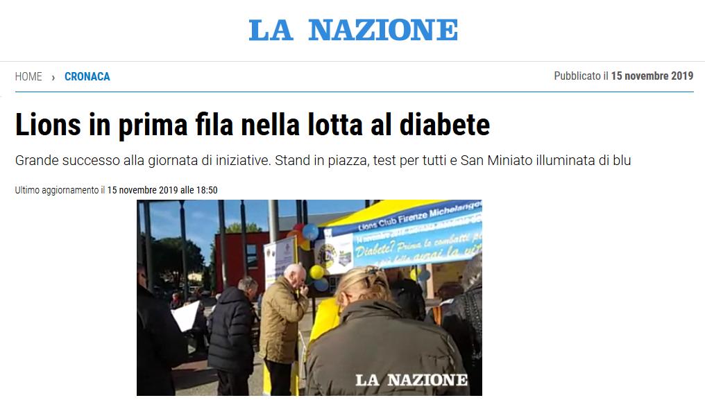 La Nazione Diabete